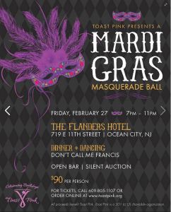 Mardi Gras at the Flanders - OC, NJ