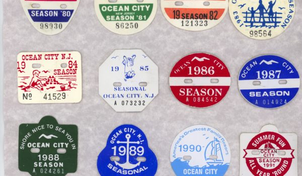 Forty Years Of Beach Tags