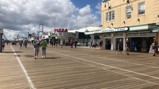 Sunday on the Ocean City Boardwalk was beautiful!