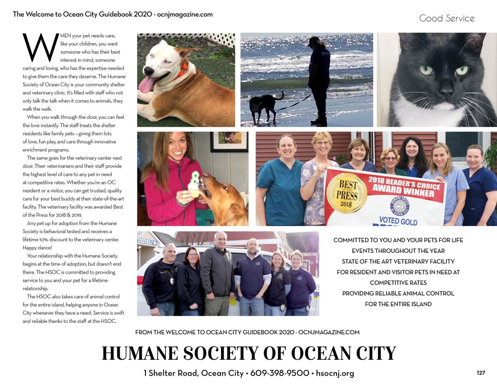The Humane Society of Ocean CIty