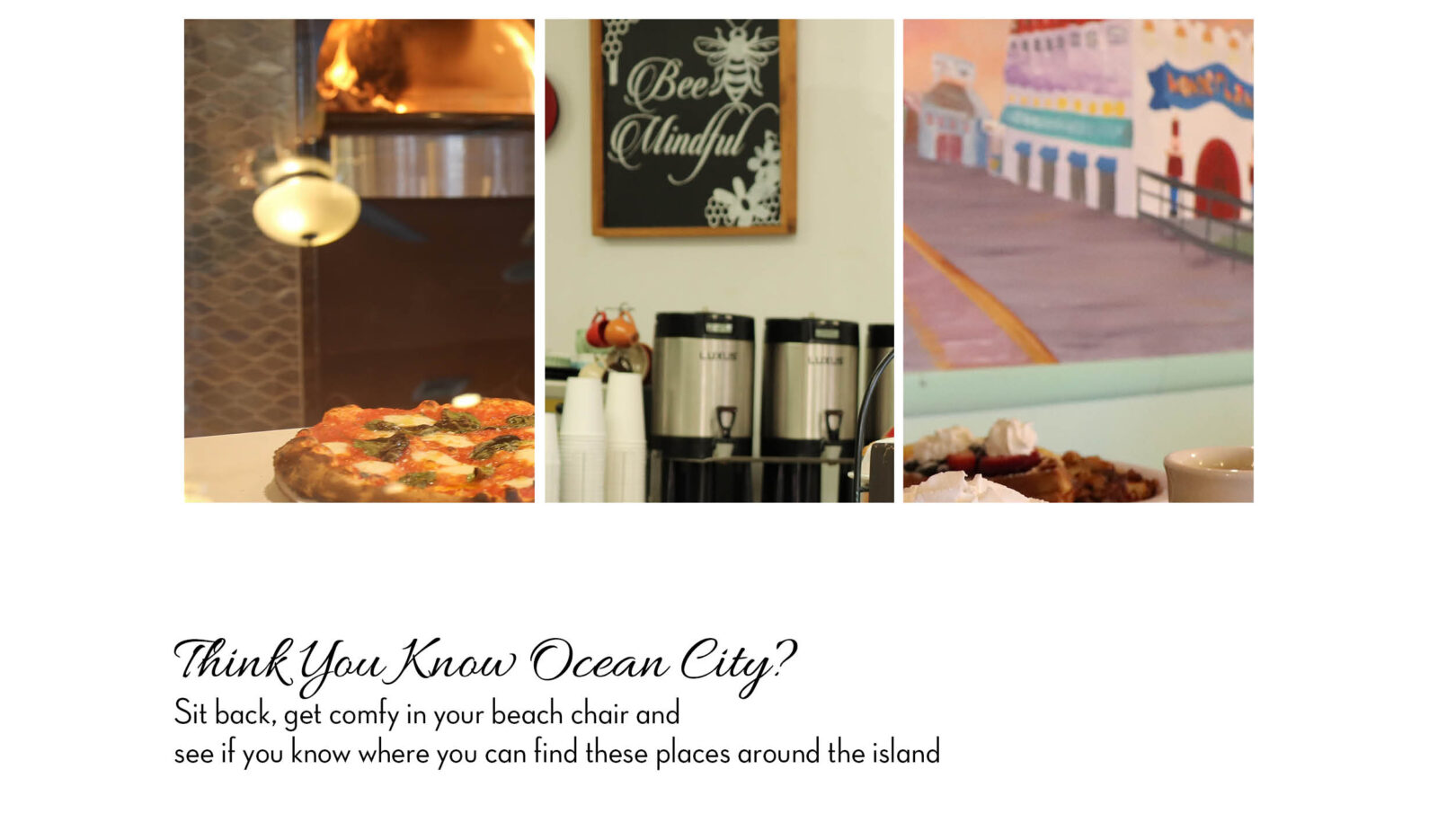 Spot It Quiz June Ocean City Magazine