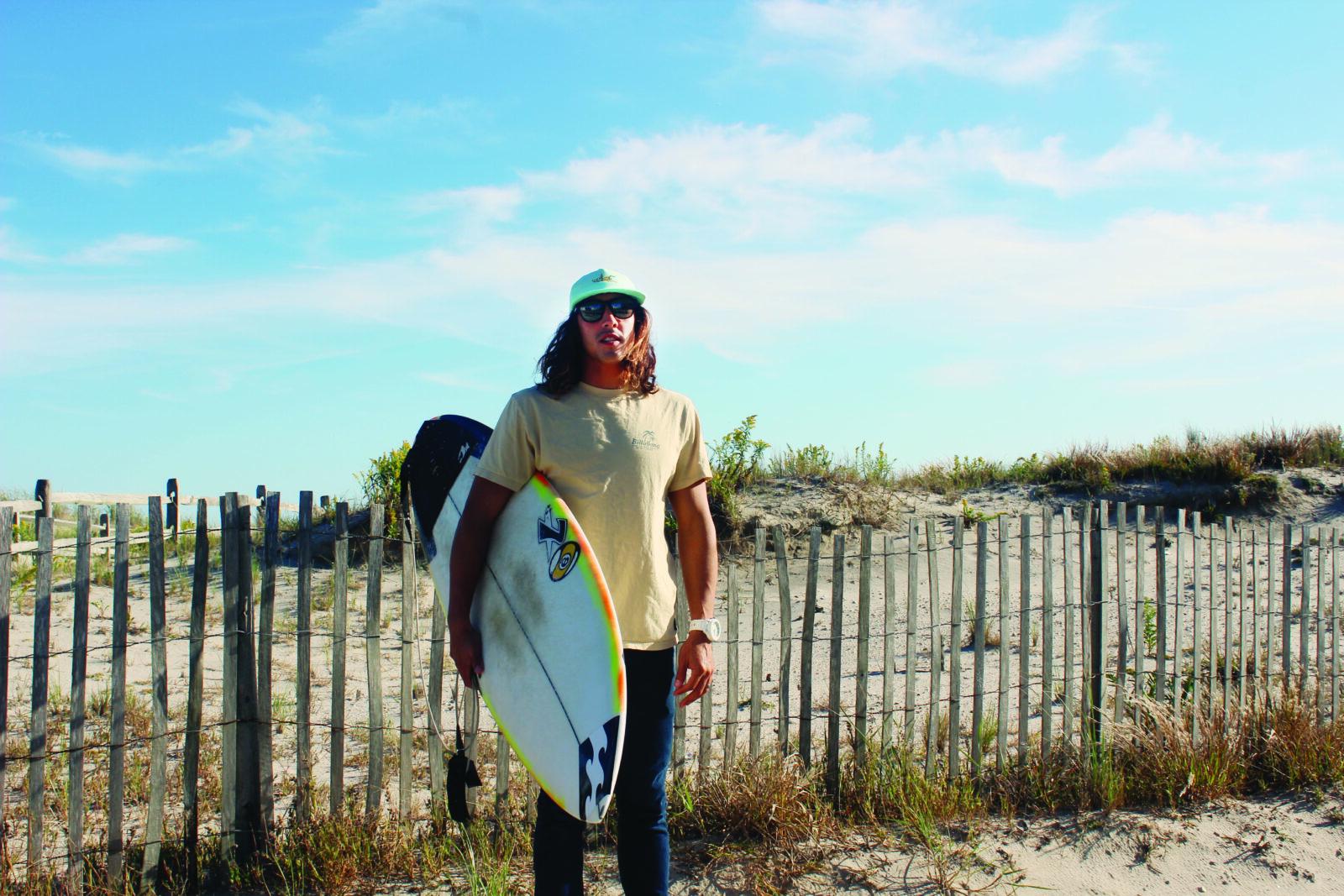 Pro Surfer Rob Kelly